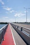 Bridge Lines Across River Royalty Free Stock Photography