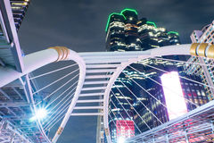 Bridge link between BRT and BTS Royalty Free Stock Photography