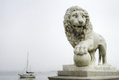 Bridge of Lions in Saint Augustine Royalty Free Stock Photo