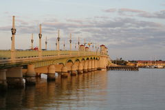 The Bridge of Lions, St Augustine, Florida. Royalty Free Stock Photos