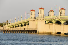 The Bridge of Lions. In St. Augustine, Florida Royalty Free Stock Image