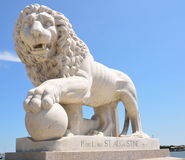 Bridge of Lions in St Augustine Stock Photography