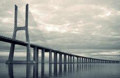 Bridge in Lisbon Stock Photos