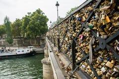 Bridge of locks Stock Photos