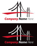 Bridge Logo Royalty Free Stock Images