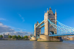 bridge london tower Στοκ εικόνα με δικαίωμα ελεύθερης χρήσης