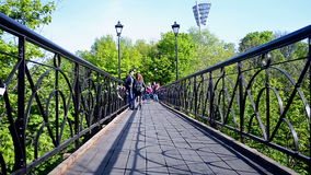 Bridge of Lovers in Kiev, Ukraine, Royalty Free Stock Photo