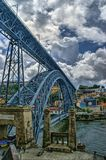 Bridge Luis I royalty free stock photography