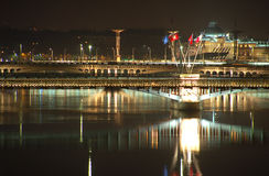 bridge lyon Στοκ Εικόνα
