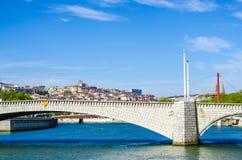 Bridge  Lyon, France Royalty Free Stock Photos