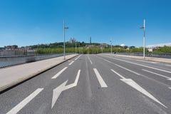 Bridge in Lyon Stock Photography