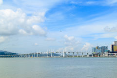 Bridge of Macao Royalty Free Stock Photography