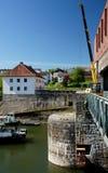 Bridge Maintainance Royalty Free Stock Image