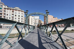 Bridge in Malaga, Spain Royalty Free Stock Image