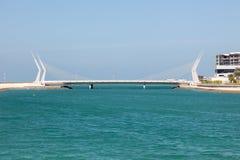 Bridge in Manama City, Bahrain Stock Photography
