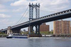 Bridge in Manhattan Royalty Free Stock Photos
