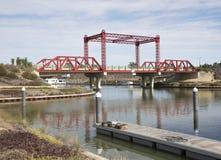Bridge at Marina. Stock Photos