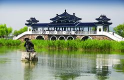 Bridge of meeting fairy taihu Stock Images