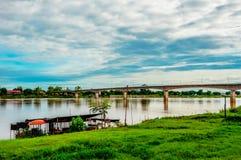 Bridge Mekong Stock Images