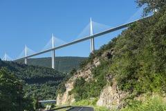 Bridge of Millau (France) Royalty Free Stock Image