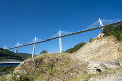 Bridge of Millau (France) Stock Photography