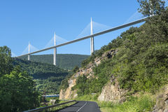 Bridge of Millau (France) Royalty Free Stock Photography
