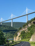 Bridge of Millau (France) Royalty Free Stock Photo