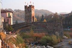 Bridge of Millesimo Stock Image