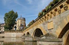bridge mitten Royaltyfria Bilder
