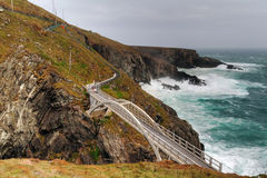 The bridge at Mizen Head Stock Photography