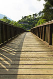 The bridge. Bridge at Molina of Ledro Royalty Free Stock Images