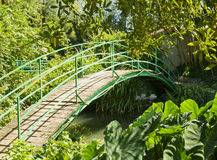 Bridge at Monet's Garden Stock Photo