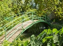 Bridge at Monet's Garden Stock Photo