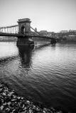 Bridge mono portrait Stock Images