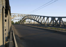 Bridge in the morning light Stock Image
