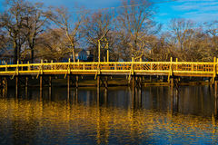 A Bridge in the Morning Royalty Free Stock Image