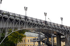 Bridge in Moscow 2 Royalty Free Stock Photo