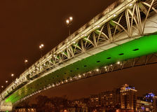 The bridge through Moscow-river-3 royalty free stock images