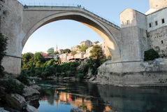 Bridge at Mostar. National heritage Royalty Free Stock Image