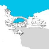 Bridge in Mostar Stock Image