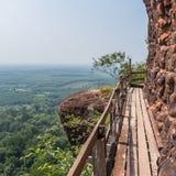 Bridge on mountain Royalty Free Stock Images