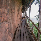 Bridge on Mountain Royalty Free Stock Photo