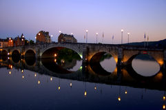 Bridge in Namur Stock Photo
