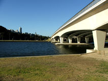 Bridge - The Narrows. The Narrows Bridge in Perth, Western Australia stock images