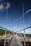Bridge in nature Stock Image