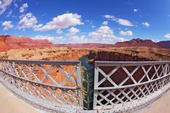 The bridge in the Navajo Reservation Stock Photos