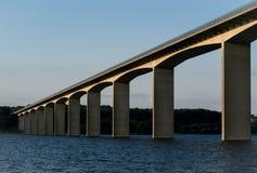 Bridge Near Lake Stock Image