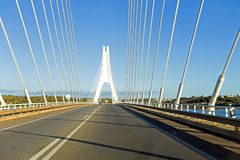 Bridge near Portimao in Portugal Stock Images