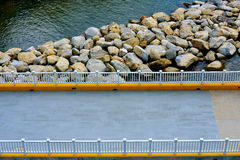 Bridge near the water Royalty Free Stock Photography