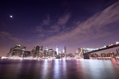 Bridge in new york Stock Photography